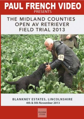 2013 Midland Counties 2 day Open AV Retriever Field Trial